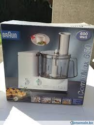 cuisine braun de cuisine braun combimax non déé a vendre 2ememain be