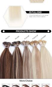 Pre Bonded Human Hair Extensions Uk by Cheap 30 Sell 20inch Straight Human Hair Extension Ombre Two