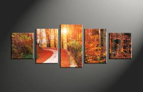 Home Decor Canvas Art by Wall Design 5 Piece Wall Art Design 5 Piece Wall Art Black And