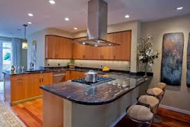 range in island kitchen how a beautiful kitchen island can change the decor in your