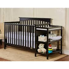 Convertible Mini Crib by Mini Crib With Changing Table Attached Pictures U2014 Thebangups Table