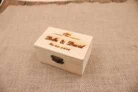 box personalized rustic wedding ring bearer box personalized wedding ring box