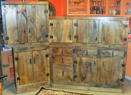 Hand Made Rustic Kitchen Cabinets By The Bunk House CustomMadecom - Rustic kitchen cabinet