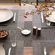 chilewich bamboo table runner grounded modern living