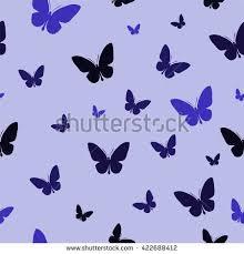 abstract pattern butterfly polygonal pattern blue butterflies abstract wallpaper stock vector