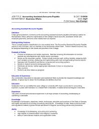 100 accounts payable resume samples sample of resume for office