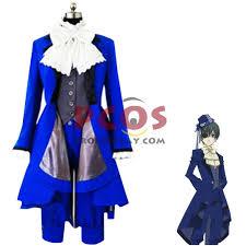 Butler Halloween Costume Black Butler Ciel Phantomhive Cosplay Costume Sale