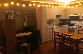 Restaurant String Lights by How To Hang String Lights In Your Apartment Love From Elizabeth
