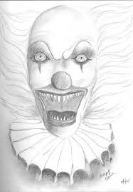 creepy clown coloring pages high quality coloring pages