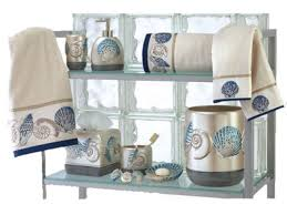 Beachy Bathroom Accessories by Bamboo Themed Bathroom Pottery Barn Beach Theme Beach Themed