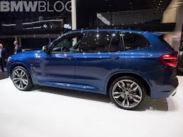 2017 bmw x3 vs 2018 2017 frankfurt auto show the new bmw x3