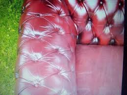 Small Leather Chesterfield Sofa by Vintage Retro Leather Chesterfield Seater Large Sofa In Oxblood