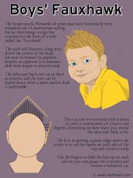 cutting boy hair with scissors how to cut a boys fauxhawk with a long strip of hair down the