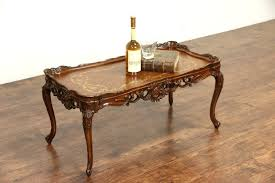 french provincial coffee table for sale french provincial coffee table sale stylepick me