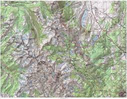 Mammoth Map Backpacking 2015 Tuolumne To Mammoth Planning