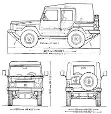 volkswagen drawing warwheels net volkswagen type 183 bombardier iltis index