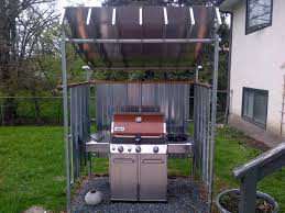 recycled satellite dish bbq shelter fine homebuilding