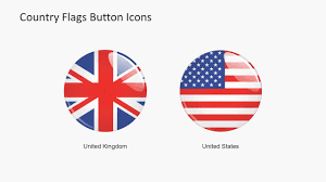 Conutry Flags Country Flags Button Icons Powerpoint Shapes Slidemodel