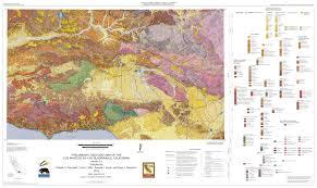 california map pdf preliminary geologic map of the los angeles 30 60 quadrangle