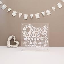 wedding paper personalised wedding paper cut allihopa