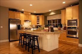 cherry kitchen cabinets with dark wood floors retro kitchen