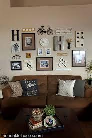 living room wall design photos