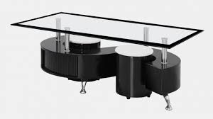 s shaped glass black high gloss coffee table homegenies