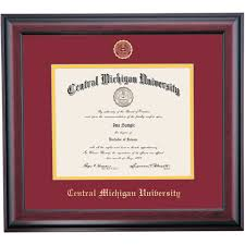 of michigan diploma frame central michigan graduation diploma frames by college ocm