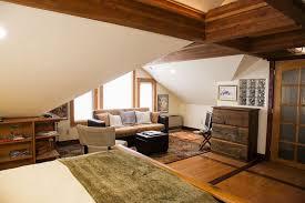 Garage With Loft A Cozy Coach House Loft Small House Bliss