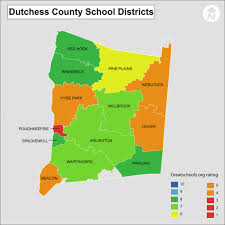 County Map New York by Dutchess County District Real Estate Real Estate Hudson