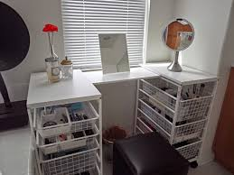Diy Vanity Desk Bedroom Vanit Simple And Cool White Diy Vanity Table With Pull