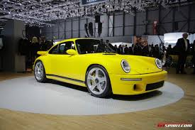 porsche ruf yellowbird geneva 2017 ruf ctr the modern yellowbird gtspirit