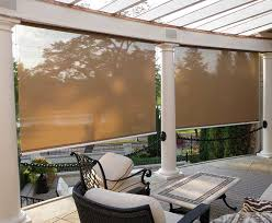 Exterior Shades For Patios Screen