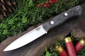 bark river kitchen knives bark river black canvas micarta matte