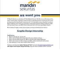 email mandiri mandiri sekuritas on twitter we re currently looking for graphic
