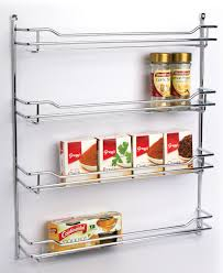 Linus Spice Rack Spice Rack 4 Tier Chrome From Storage Box