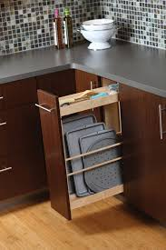 Pull Out Shelves Kitchen Cabinets Pots U0026 Pans Storage Cookware Cabinets Dura Supreme Cabinetry