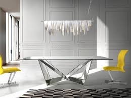 Designer Glass Dining Tables Glass Dining Tables And Chairs Modern Furniture Dining Room