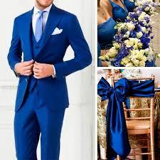 royal blue wedding custom made royal blue two button tuxedos men s wedding suits