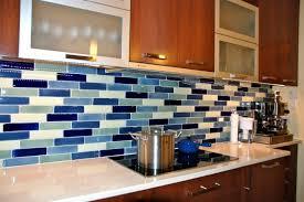 contemporary kitchen glass backsplash ideas