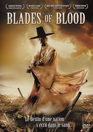 Blades of blood streaming