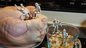 don t stuff your turkey put cooked in while the turkey rests