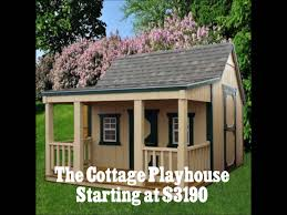 Derksen Portable Finished Cabins At Enterprise Center Youtube Derksen Playhouses Youtube
