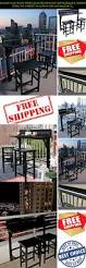 Bistro Set Outdoor Bar Height by Balcony Bar Height Bistro Set Outdoor Patio Furniture Bar U0026 Modern