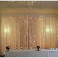 wedding backdrop fairy lights hire fairy light backdrop 12m x 4m for weddings and wedding