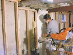 How To Insulate Basement Walls by Basement Top Basement Wall Blanket Insulation Decor Idea