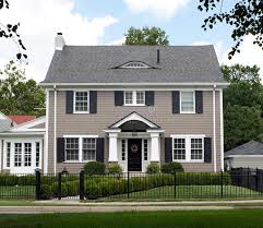 two story house stately two story house stock photo image of front blue 32998246