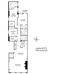 narrow house floor plans apartments narrow house plans narrow house floor plans