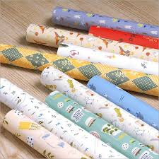 pretty wrapping paper kid s wrapping paper for birthday forest friend