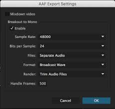 export adobe premiere best quality how to export aaf from premiere pro soundrolling com